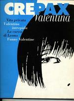 Valentina Vita privata valentina intrepida la curva di lesmo funny valentine. volume 1 crepax