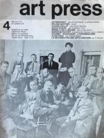 Art Press. 4 Mai/Juin 73. Le numèro 5 F