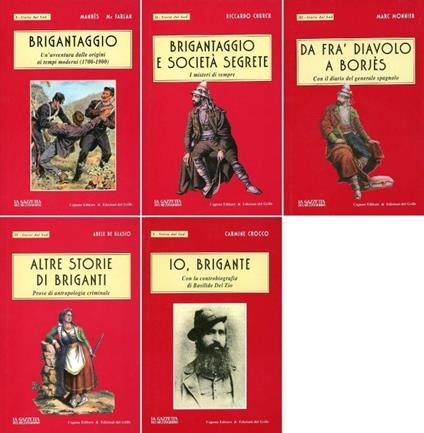 Brigantaggio. Un'avventura dalle origini ai tempi moderni (1700-1900) di: MANHES, Charles - copertina