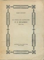 Una poetica del razionalismo: F.S. Quadrio (1692-1756)