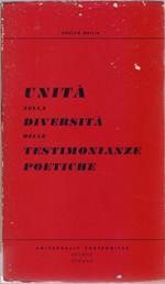 Unità nella diversità delle testimonianze poetiche - Adolfo Oxilia