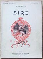 Sire. Ed. Fayard Et C.. Collana Modern. Bibliotèque Di: Lavedan Henri