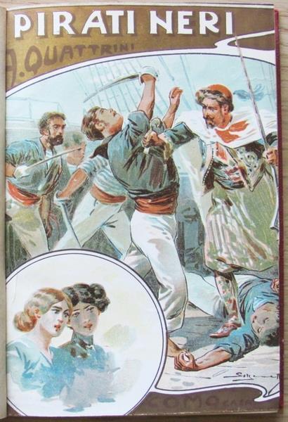 I Pirati Neri - Antonio G. Quattrini - copertina