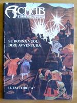 Achab Il Corriere Dell'Avventura N.9, 1993 - Verne, Arcieri E Cavalieri Templari