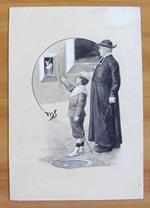 Tavola originale di MENOTTI SCAGLIARINI primi '900