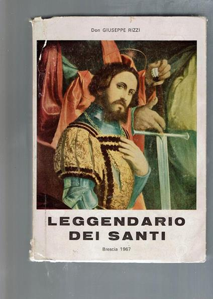Leggendario Dei Santi / Brescia 1967 - copertina