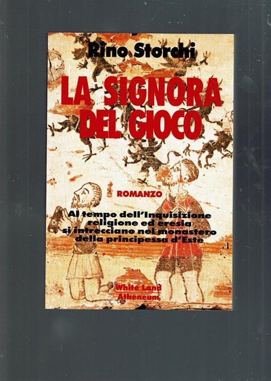 La signora del gioco - Rino Storchi - copertina
