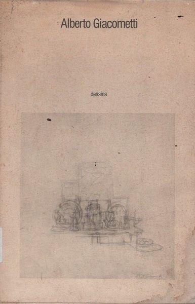 Alberto Giacometti. Dessins - copertina