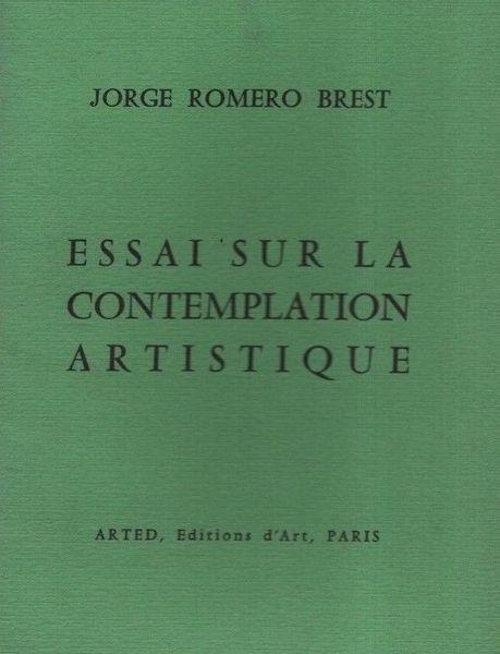 Essai sur la contemplation artistique di: Brest - copertina