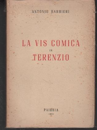 La vis comica in Terenzio - Antonio Barbieri - copertina