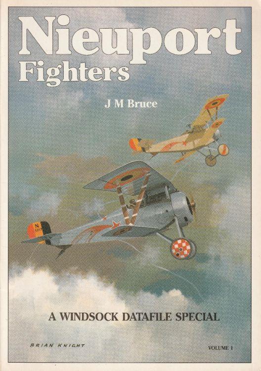 Nieuport Fighters. A windsock datafile special Vol. 1 - J.M. Bruce - copertina