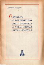 Causalità e determinismo nella filosofia e nella storia della scienza