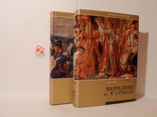 Napoleone e l'Italia - André Fugier - copertina