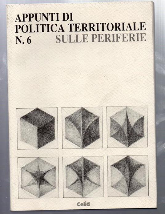 Appunti di Politica Territoriale sule periferie - Alfredo Mela - copertina