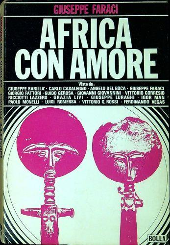 Africa con amore - Giuseppe Faraci - copertina