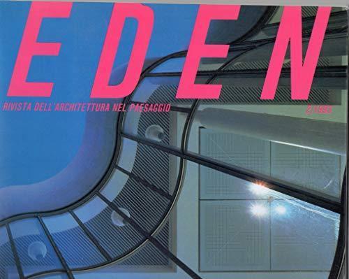 Eden - Rivista dell'Architettura nel paesaggio n° 2 / 1993 - copertina
