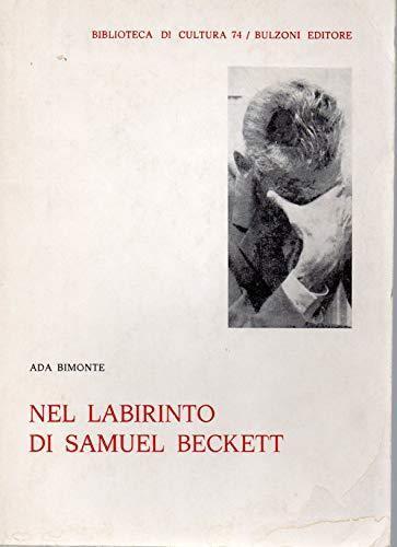 Nel Labirinto di Samuel Beckett - Ada Bimonte - copertina