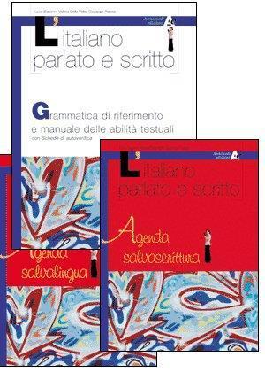 L' italiano parlato e scritto. Agenda salvalingua. Per il biennio - Luca Serianni - copertina