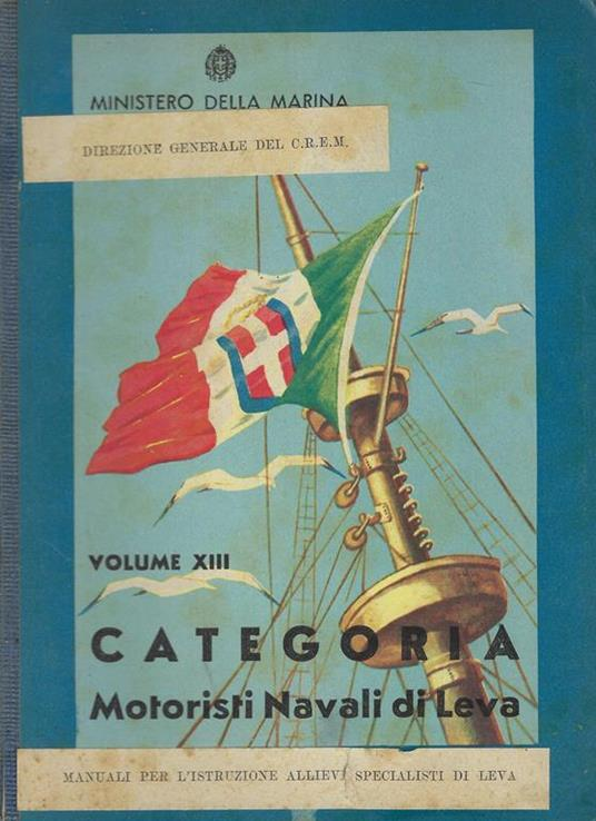 Categoria motoristi navali di leva - copertina