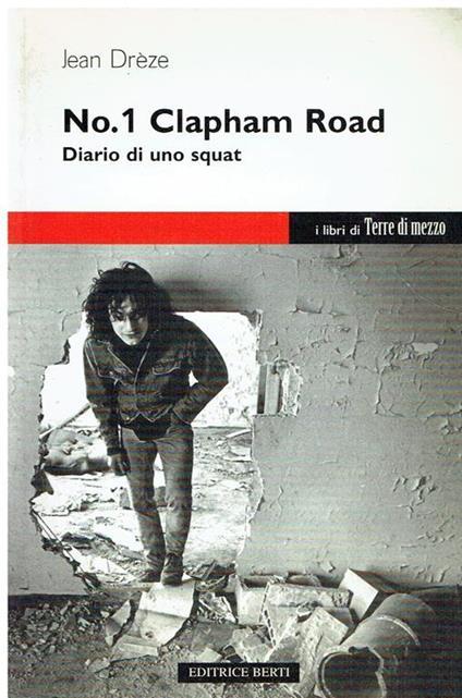 No.1 Clapham Road : diario di uno squat - copertina