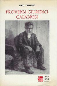 Proverbi giuridici calabresi - copertina
