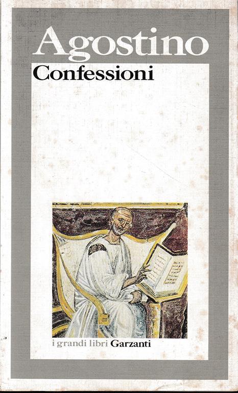 Le confessioni - Agostino - copertina
