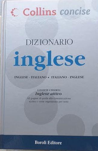 Collin Concise. Dizionario Inglese: Inglese Italiano - Italiano Inglese - copertina