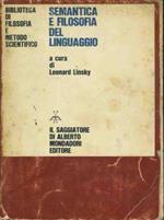 Semantica e filosofia del linguaggio