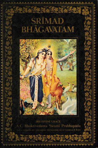 Srimad Bhagavatam - Vyasa Krsna-Dvaipayana - copertina