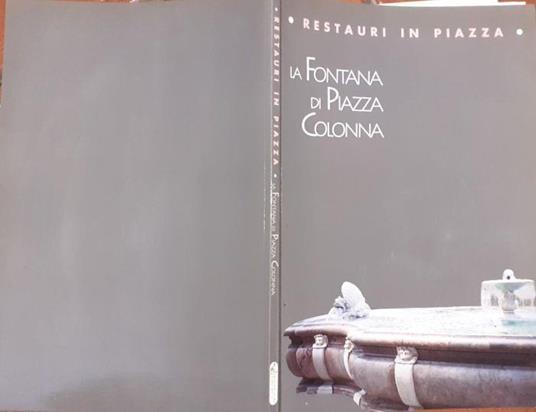 La fontana di piazza Colonna - Anna Lio - copertina
