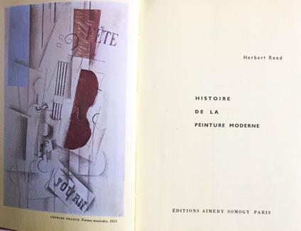 Histoire de la peinture moderne - Herbert Read - copertina