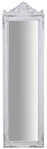 Specchiera Da Terra L40Xpr3Xh140 cm Finitura Bianco Anticato - 2