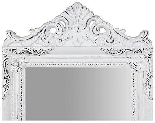 Specchiera Da Terra L40Xpr3Xh140 cm Finitura Bianco Anticato - 3