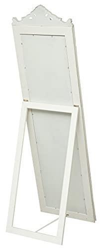 Specchiera Da Terra L40Xpr3Xh140 cm Finitura Bianco Anticato - 5