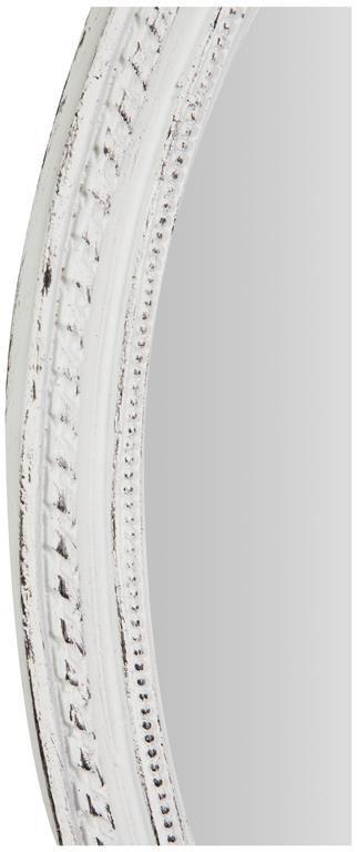 Specchiera da appendere L36xPR3xH50 cm finitura bianco anticato. - 3
