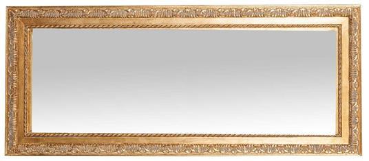 Specchiera da appendere verticale/orizzontale L35xPR2xH82 cm finitura oro anticato. - 2