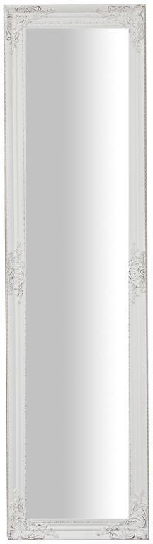 Specchiera da terra L44xPR3xH164 cm finitura bianco anticato.