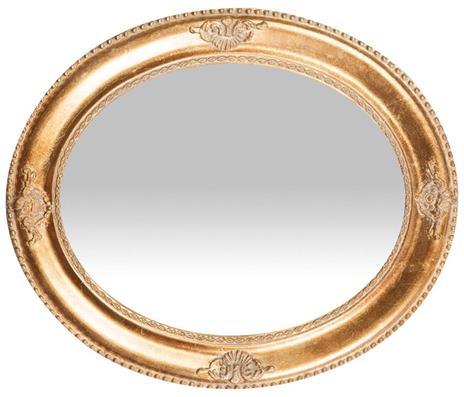 Specchiera da appendere verticale/orizzontale L54xPR3xH64 cm finitura oro anticato. - 2