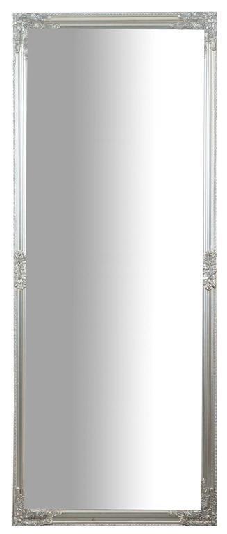 Specchiera da appendere verticale/orizzontale L72xPR3xH180 cm finitura argento anticato.