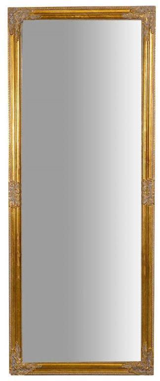 Specchiera da appendere verticale/orizzontale L72xPR3xH180 cm finitura oro anticato.