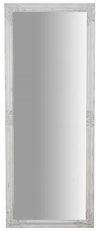 Specchiera da appendere verticale/orizzontale L72xPR3xH180 cm finitura bianco anticato.