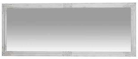 Specchiera da appendere verticale/orizzontale L72xPR3xH180 cm finitura bianco anticato. - 2