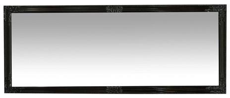Specchiera da appendere verticale/orizzontale L72xPR3xH180 cm finitura nero lucido. - 2