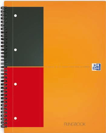 Oxford 100102994 quaderno per scrivere Arancione A4