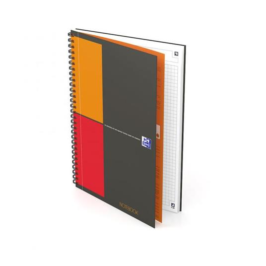 Oxford 400080784 quaderno per scrivere Grigio B5