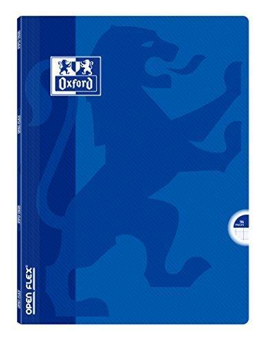 Oxford Openflex quaderno polipropilene 96pagine 24x 32cm blu