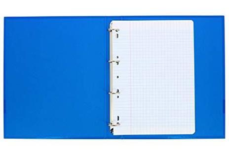 Oxford Scolaire fogli semplici perforati A4,21x 29,7cm, 90g, a quadretti grandi, 500pagine - 3