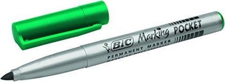 BIC Marking Fine Ecolutions Pennarelli indelebili a punta conica fine, colori assortiti, confezione da 4 - 2