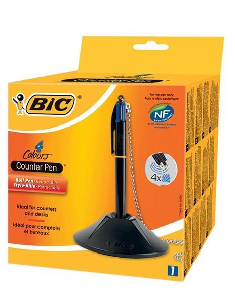 BIC Colours penna da tavolo Nero