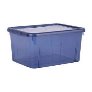 EDA Scatola portaoggetti Funny Box 8L Blu Profondo acidulé